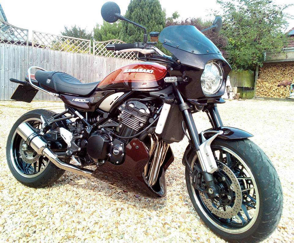 New Product for your Z900RS - Lancer Fairing - Powerbronze